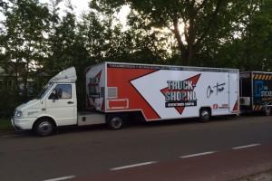 Sjoch vrachtwagen